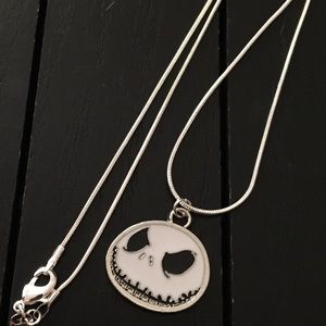"20"" Silver Necklace/Nightmare before Christmas"